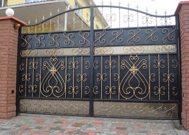 изготовление, монтаж, производство ворот киев
