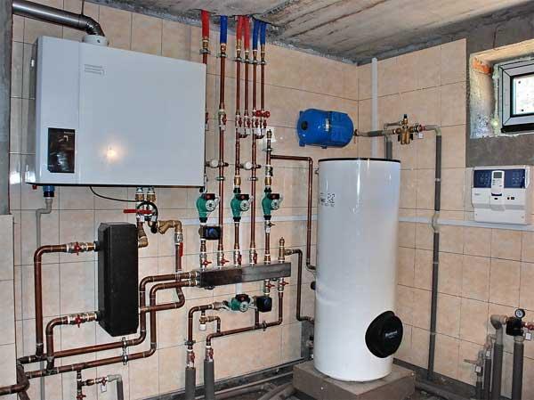 монтаж систем отопления киев